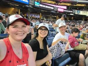 Terry attended New York Yankees vs. Boston Red Sox - MLB on Jul 16th 2021 via VetTix
