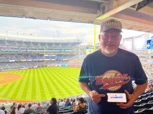 MSgt. Christopher Bates, USAF Retired attended New York Yankees vs. Boston Red Sox on Jul 17th 2021 via VetTix