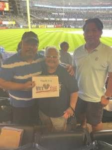 EzzyZeddy attended New York Yankees vs. Boston Red Sox on Jul 17th 2021 via VetTix