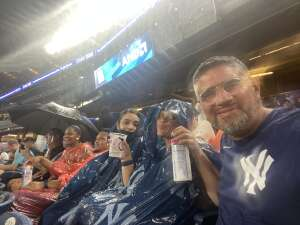 David attended New York Yankees vs. Boston Red Sox on Jul 17th 2021 via VetTix
