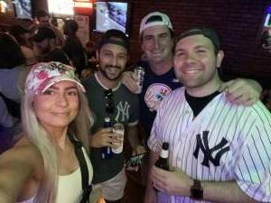 Anthony attended New York Yankees vs. Boston Red Sox on Jul 17th 2021 via VetTix