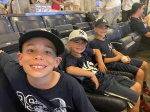 Joe attended New York Yankees vs. Boston Red Sox on Jul 17th 2021 via VetTix