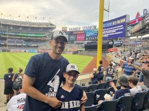 Jon attended New York Yankees vs. Boston Red Sox on Jul 17th 2021 via VetTix
