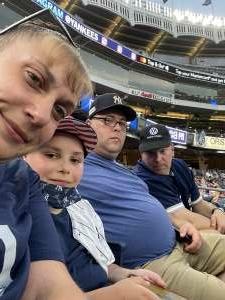 Mike attended New York Yankees vs. Boston Red Sox on Jul 17th 2021 via VetTix