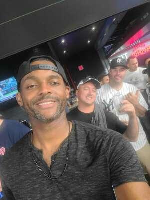 Gus Tascon attended New York Yankees vs. Boston Red Sox on Jul 17th 2021 via VetTix