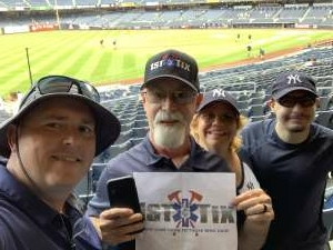 James attended New York Yankees vs. Boston Red Sox on Jul 17th 2021 via VetTix