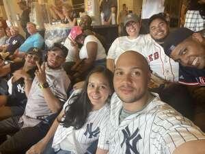 Luke A attended New York Yankees vs. Boston Red Sox on Jul 17th 2021 via VetTix