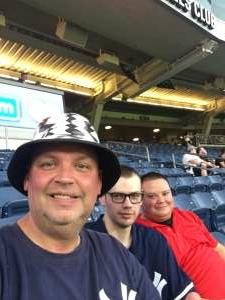 Chris B  attended New York Yankees vs. Boston Red Sox on Jul 17th 2021 via VetTix