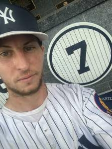 AJ attended New York Yankees vs. Boston Red Sox on Jul 17th 2021 via VetTix