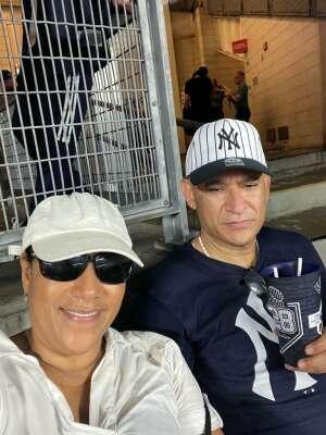 Manny attended New York Yankees vs. Boston Red Sox on Jul 17th 2021 via VetTix