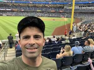 Ben Elliott attended New York Yankees vs. Boston Red Sox on Jul 17th 2021 via VetTix