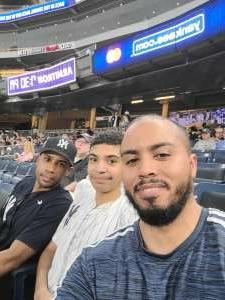 AG attended New York Yankees vs. Boston Red Sox on Jul 17th 2021 via VetTix