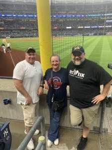 Darrell Sullivan attended New York Yankees vs. Boston Red Sox on Jul 17th 2021 via VetTix