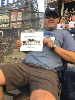 Ed attended New York Yankees vs. Boston Red Sox on Jul 17th 2021 via VetTix