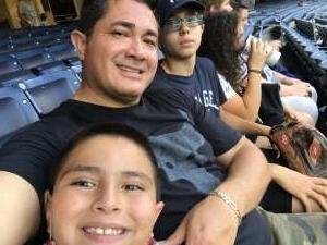 Miguel Cedeno attended New York Yankees vs. Boston Red Sox on Jul 17th 2021 via VetTix