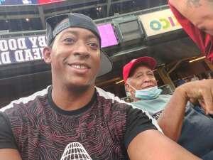 Mario Ramirez attended New York Yankees vs. Boston Red Sox on Jul 17th 2021 via VetTix