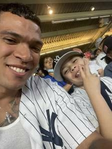 Anthony Gonzalez attended New York Yankees vs. Boston Red Sox on Jul 17th 2021 via VetTix