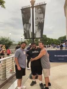 Craig Laliberte attended New York Yankees vs. Boston Red Sox on Jul 17th 2021 via VetTix