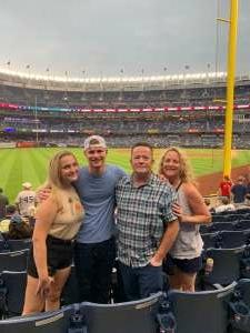 JR attended New York Yankees vs. Boston Red Sox on Jul 17th 2021 via VetTix