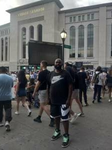 Daniel attended New York Yankees vs. Boston Red Sox on Jul 17th 2021 via VetTix