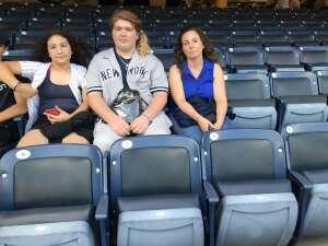 Antonina Cedeno attended New York Yankees vs. Boston Red Sox on Jul 17th 2021 via VetTix