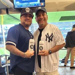 Jay attended New York Yankees vs. Boston Red Sox on Jul 17th 2021 via VetTix