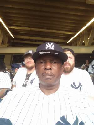 Kim Thomas attended New York Yankees vs. Philadelphia Phillies - MLB on Jul 20th 2021 via VetTix