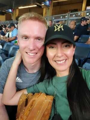 Patrick R. attended New York Yankees vs. Philadelphia Phillies - MLB on Jul 20th 2021 via VetTix