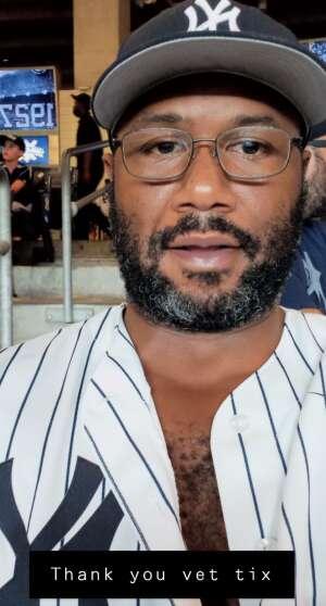 Jon e attended New York Yankees vs. Philadelphia Phillies - MLB on Jul 20th 2021 via VetTix