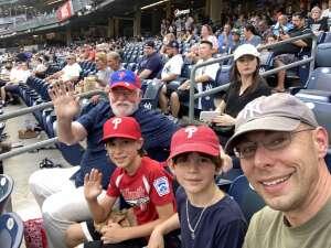 Scott Osborn attended New York Yankees vs. Philadelphia Phillies - MLB on Jul 20th 2021 via VetTix