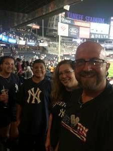 Paul attended New York Yankees vs. Philadelphia Phillies - MLB on Jul 20th 2021 via VetTix