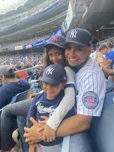 R.M. attended New York Yankees vs. Philadelphia Phillies - MLB on Jul 20th 2021 via VetTix