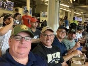 Michael Picard attended New York Yankees vs. Philadelphia Phillies - MLB on Jul 20th 2021 via VetTix
