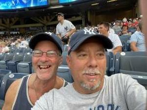 KC10Dave attended New York Yankees vs. Philadelphia Phillies - MLB on Jul 20th 2021 via VetTix