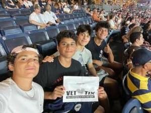 Carlos attended New York Yankees vs. Philadelphia Phillies - MLB on Jul 20th 2021 via VetTix