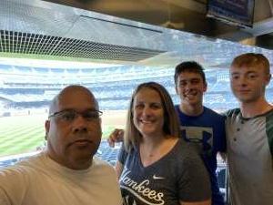 JJ attended New York Yankees vs. Philadelphia Phillies - MLB on Jul 20th 2021 via VetTix