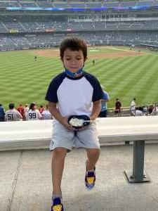 Yvonne attended New York Yankees vs. Philadelphia Phillies - MLB on Jul 20th 2021 via VetTix
