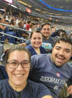 Rigo V attended New York Yankees vs. Philadelphia Phillies - MLB on Jul 20th 2021 via VetTix