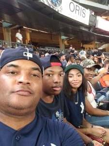 Tori jackson  attended New York Yankees vs. Philadelphia Phillies - MLB on Jul 20th 2021 via VetTix