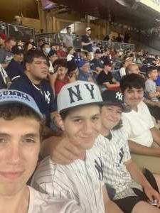 Frank attended New York Yankees vs. Philadelphia Phillies - MLB on Jul 20th 2021 via VetTix