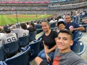 COASTIE attended New York Yankees vs. Philadelphia Phillies - MLB on Jul 21st 2021 via VetTix