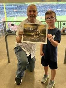 Ralph and Henry  attended New York Yankees vs. Philadelphia Phillies - MLB on Jul 21st 2021 via VetTix