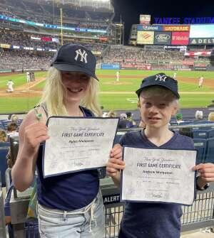 Mike Mulqueen attended New York Yankees vs. Philadelphia Phillies - MLB on Jul 21st 2021 via VetTix
