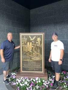 DC 1 Dalen attended New York Yankees vs. Philadelphia Phillies - MLB on Jul 21st 2021 via VetTix
