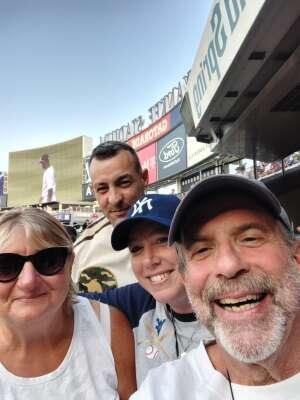 MSG Beth Lapoint attended New York Yankees vs. Philadelphia Phillies - MLB on Jul 21st 2021 via VetTix