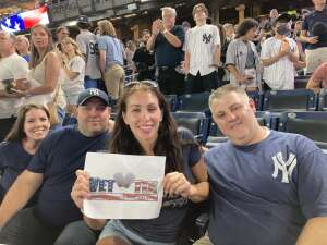 Loranics  attended New York Yankees vs. Philadelphia Phillies - MLB on Jul 21st 2021 via VetTix