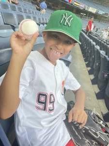 Luis  attended New York Yankees vs. Philadelphia Phillies - MLB on Jul 21st 2021 via VetTix