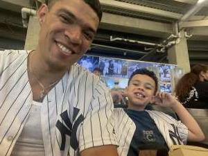 Anthony Gonzalez attended New York Yankees vs. Philadelphia Phillies - MLB on Jul 21st 2021 via VetTix