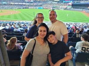 Mike G attended New York Yankees vs. Philadelphia Phillies - MLB on Jul 21st 2021 via VetTix