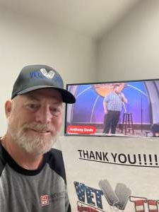 David attended World Series of Comedy - West Online Showcase - Virtual Event on Jul 20th 2021 via VetTix